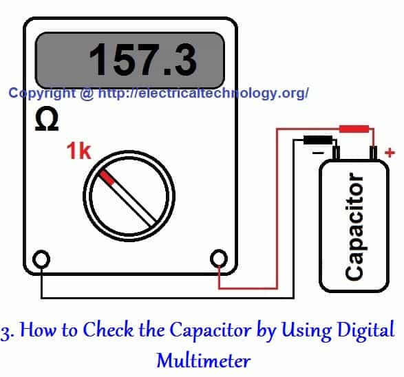 How to Check a Capacitor with Digital Multimeter and Analog AVO Meter. Four Methods